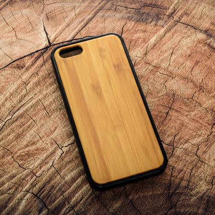 Деревянный чехол из бамбука для УФ печати Apple iPhone 5/5S/SE