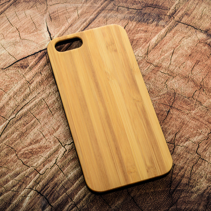 Деревянный чехол из бамбука для УФ печати Apple iPhone 6/6S