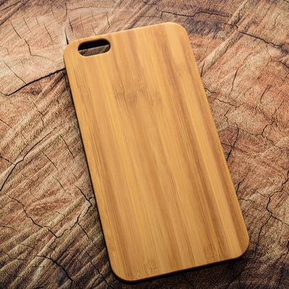 Деревянный чехол из бамбука для УФ печати Apple iPhone 6 Plus