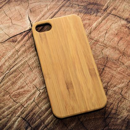 Деревянный чехол из бамбука для УФ печати Apple iPhone 7