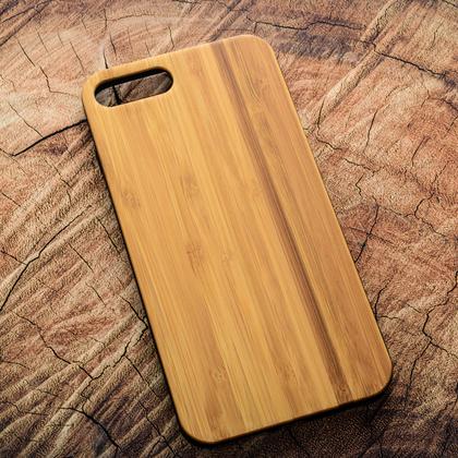 Деревянный чехол из бамбука для УФ печати Apple iPhone 7 Plus
