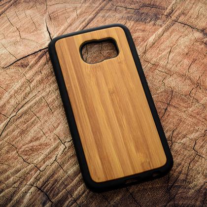 Деревянный чехол из бамбука для УФ печати Samsung Galaxy S6