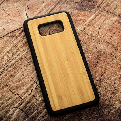 Деревянный чехол из бамбука для УФ печати Samsung Galaxy S8
