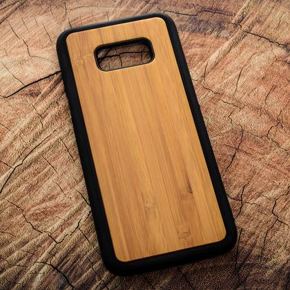 Деревянный чехол из бамбука для УФ печати Samsung Galaxy S8 Plus