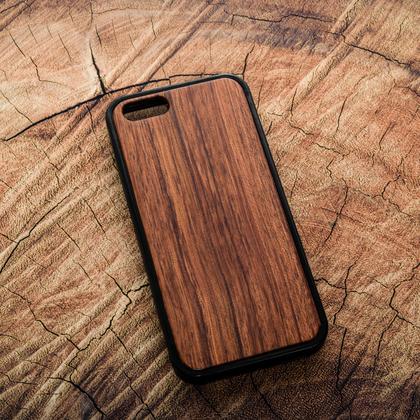 Деревянный чехол из палисандра для УФ печати Apple iPhone 5/5S/SE