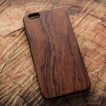 Деревянный чехол из палисандра для УФ печати Apple iPhone 6 Plus