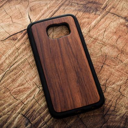 Деревянный чехол из палисандра для УФ печати Samsung Galaxy S6