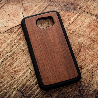 Деревянный чехол из палисандра для УФ печати Samsung Galaxy S6 Edge