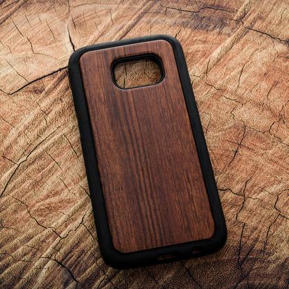 Деревянный чехол из палисандра для УФ печати Samsung Galaxy S7