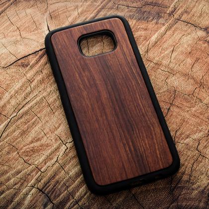 Деревянный чехол из палисандра для УФ печати Samsung Galaxy S7 Edge
