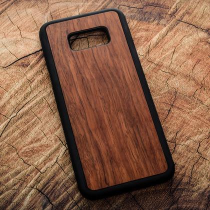 Деревянный чехол из палисандра для УФ печати Samsung Galaxy S8 Plus