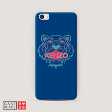 Диз. Тигр Kenzo синий