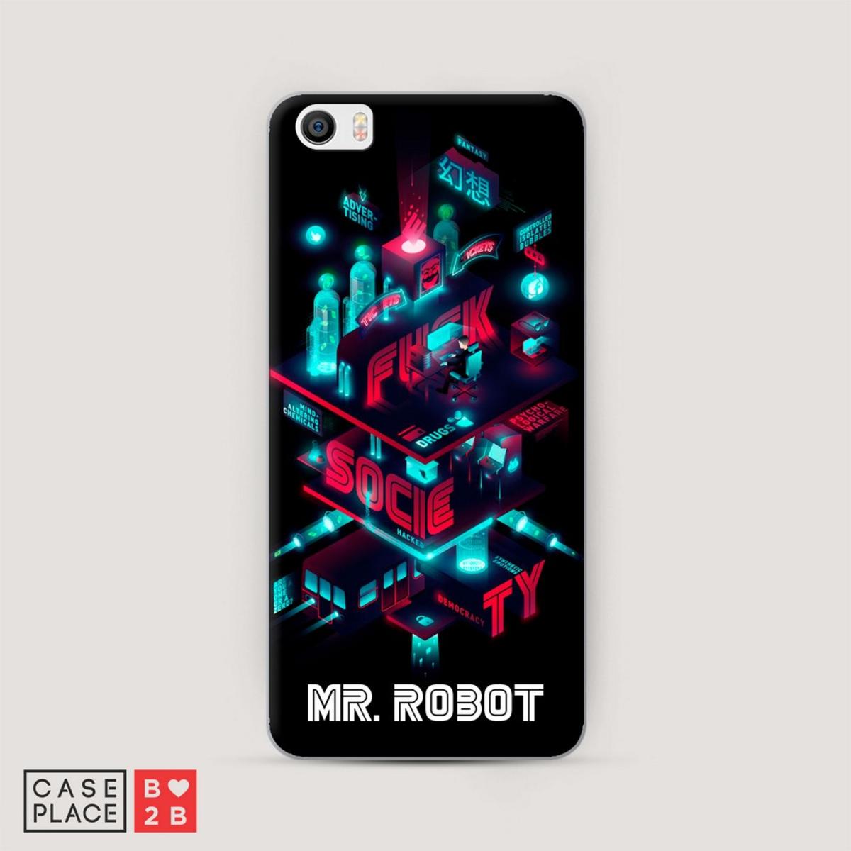 Чехол Mr Robot 2 с УФ печатью оптом