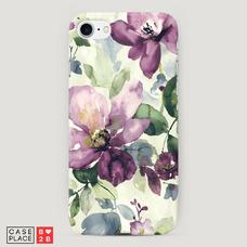 Диз. Сиреневые цветы-акварель