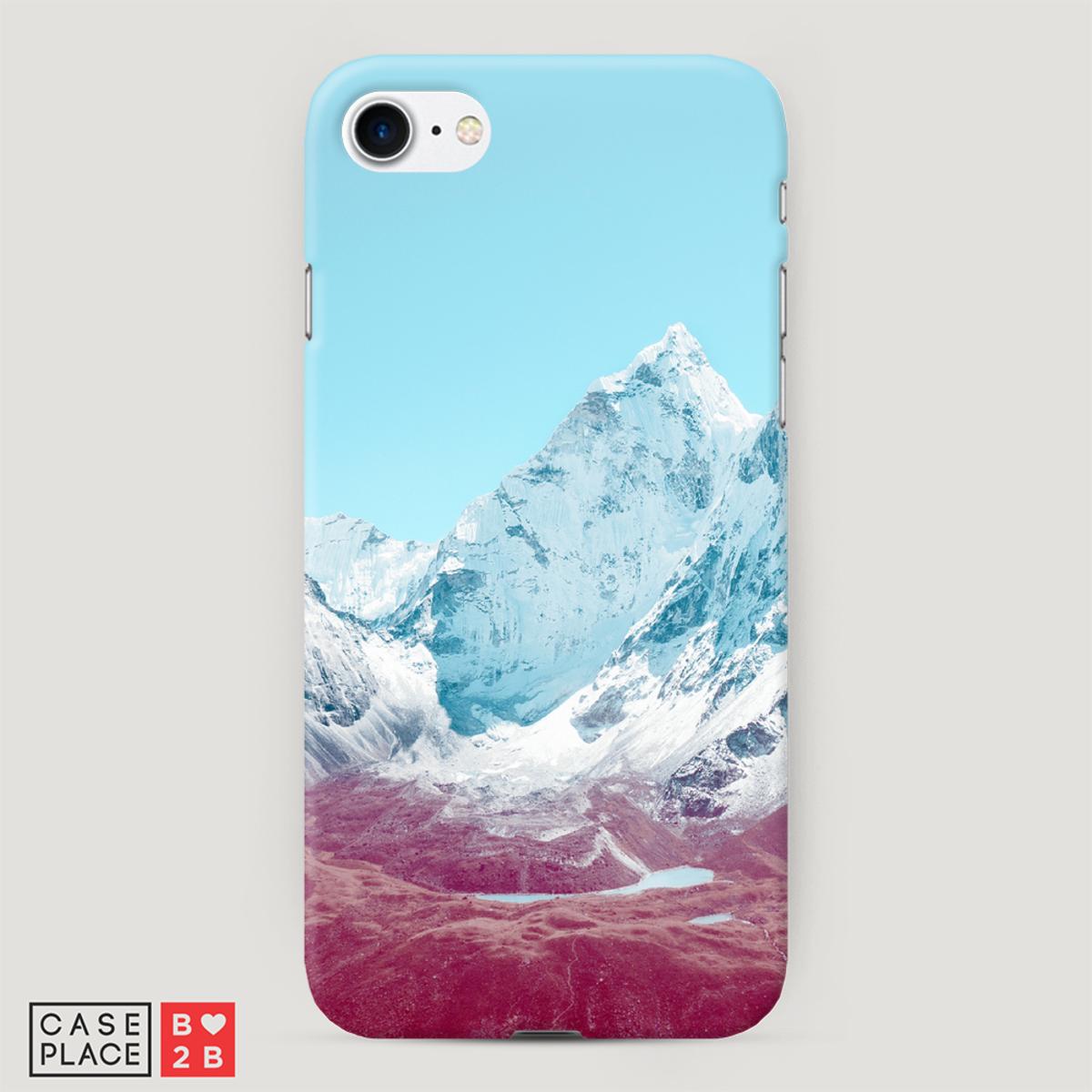Чехол Снежные горы с 3D сублимацией оптом