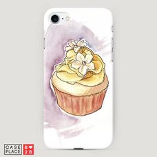 Диз. Пирожное с цветочком