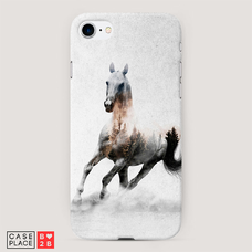 Диз. Лошадь лес