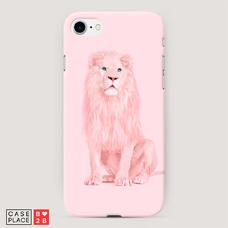 Диз. Розовый лев