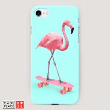 Диз. Фламинго на скейте