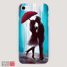 Диз. Влюбленная пара под зонтом