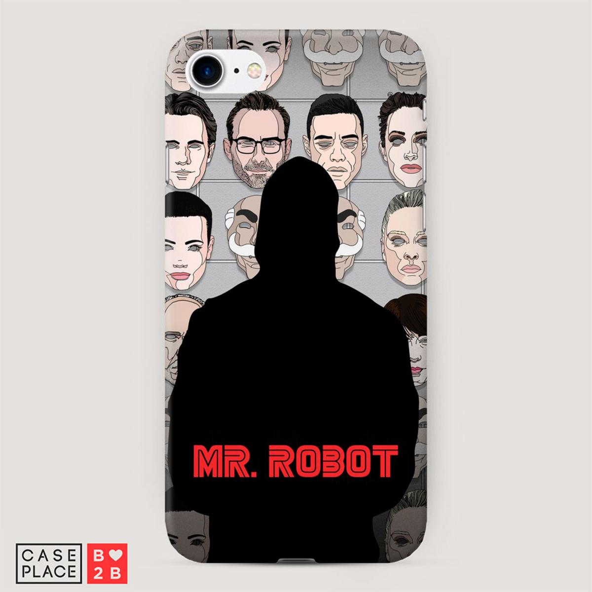 Чехол Mr Robot 1 с 3D сублимацией оптом