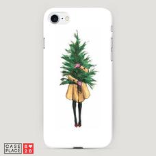 Диз. Девушка с елкой