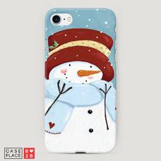 Диз. Застенчивый снеговик