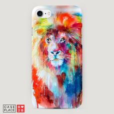 Диз. Красочный лев