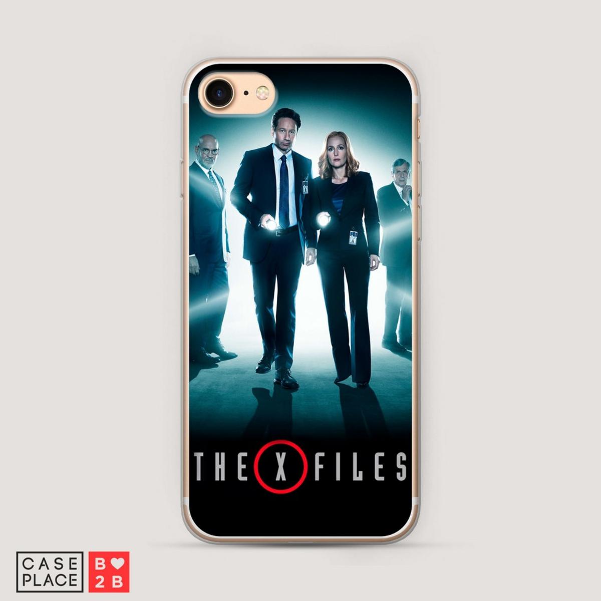 Чехол The X-Files 3 с УФ печатью оптом