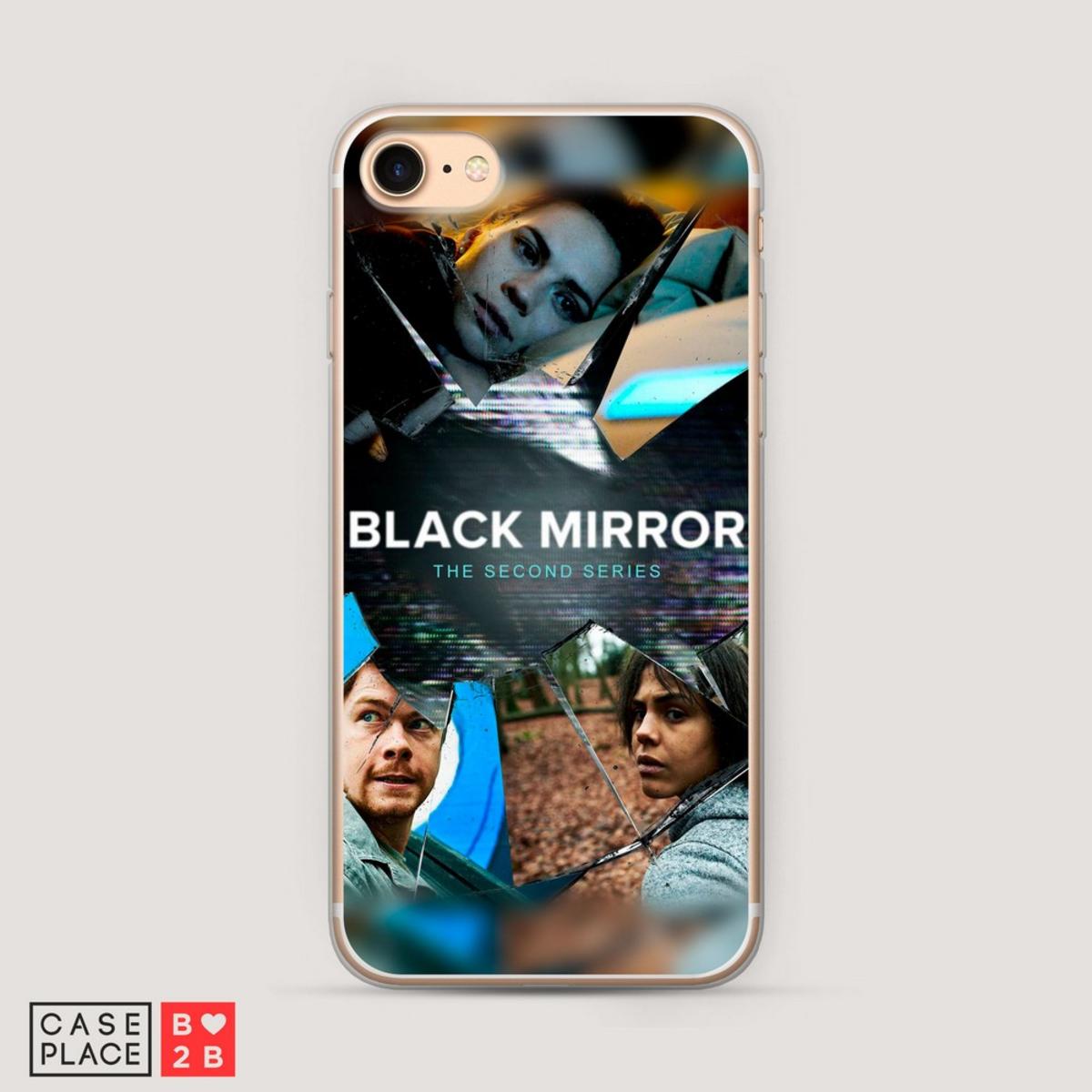 Чехол Black mirror 2 с УФ печатью оптом