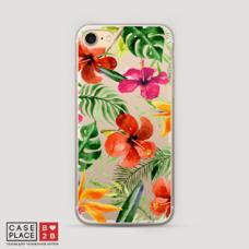 Диз. Яркие тропические цветы